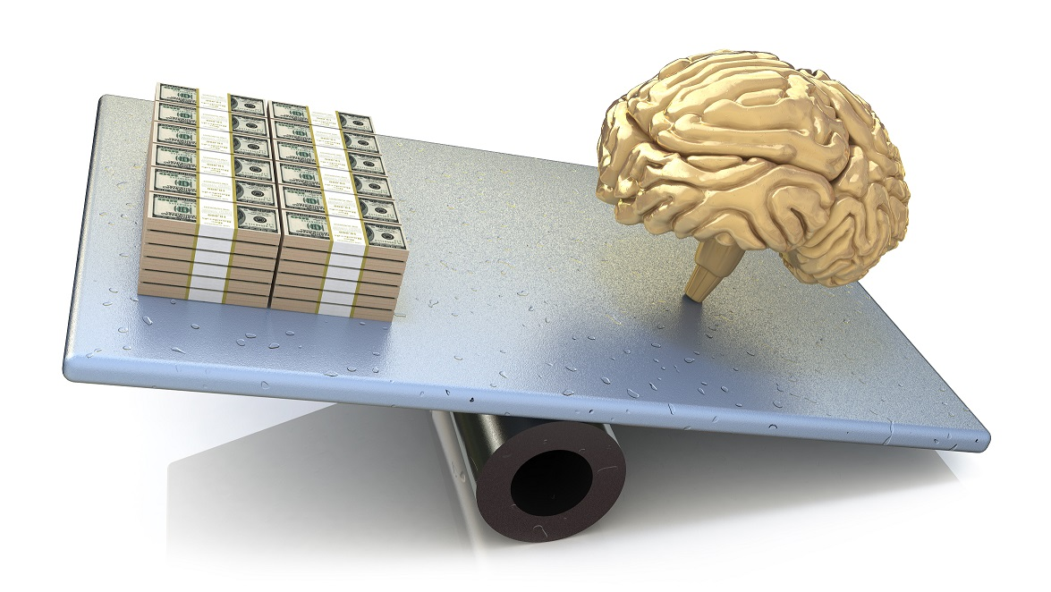 Brain price. intelligence outweighs the money in the design of information related to the intellectual and financial strength